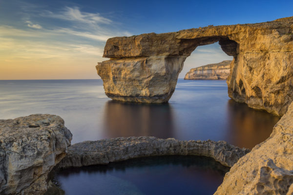 Azure Window in zee vergaan