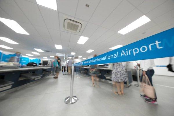 Werkzaamheden Malta international airport